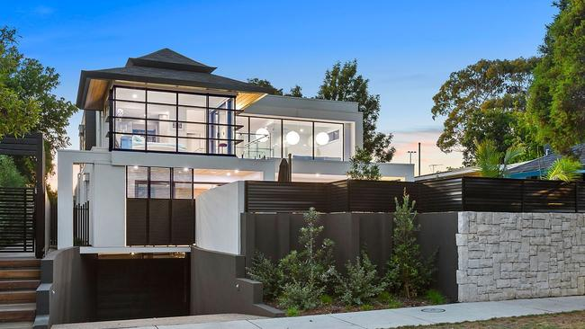 The property was designed by Noosa-based Chris Clout.