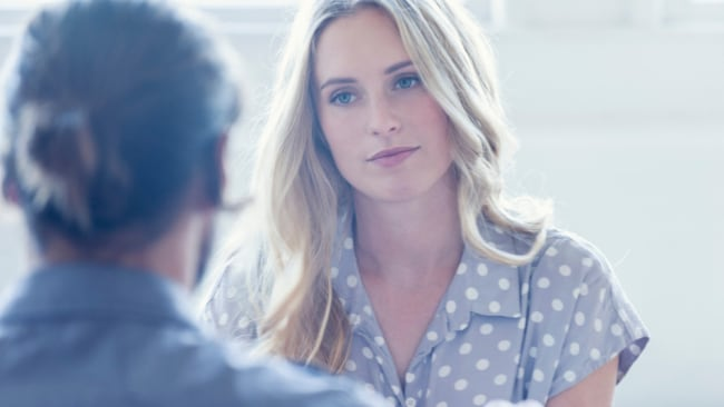 I do think you should consider talking to her boss. Image: iStock