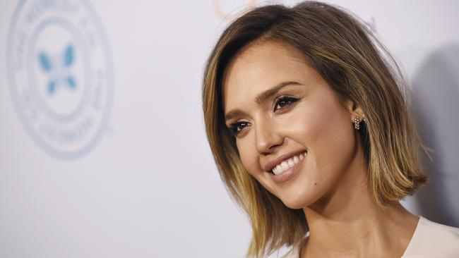 Teen star ... Jessica Alba began acting when she was 13 and has enjoyed great success thanks to a string of hit films and TV shows.