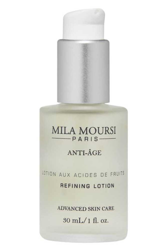 Mila Moursi Refining Lotion. Image credit: supplied