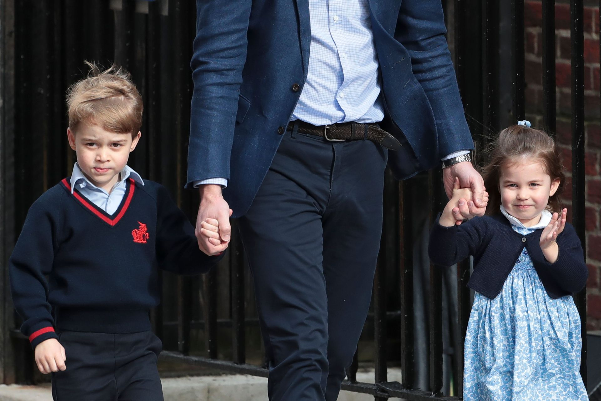 Prince George and Princess Charlotte visiting their new sibling is the cutest thing you will see today
