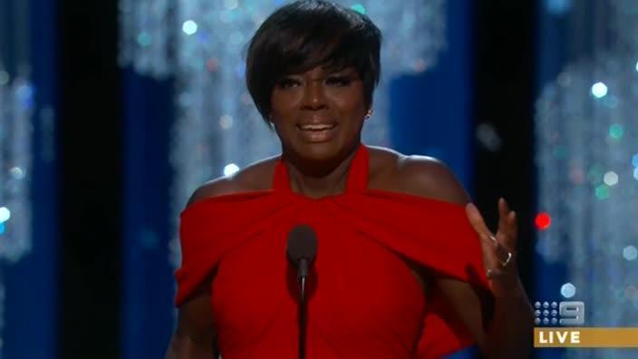 Viola Davis' emotional Oscars speech
