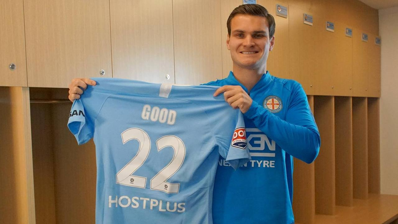 Curtis Good is back in the A-League