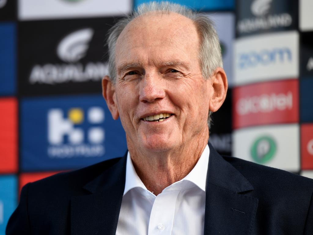 Wayne Bennett was pivotal in convincing Liam Knight to stay at Souths.