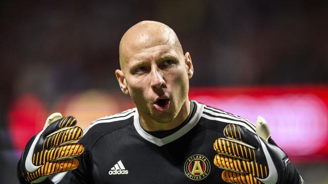 Atlanta United goalkeeper Brad Guzan (1)