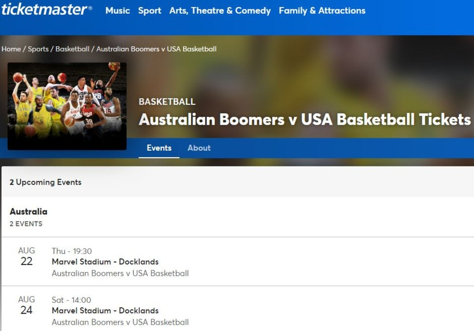 boomers vs usa - photo #2