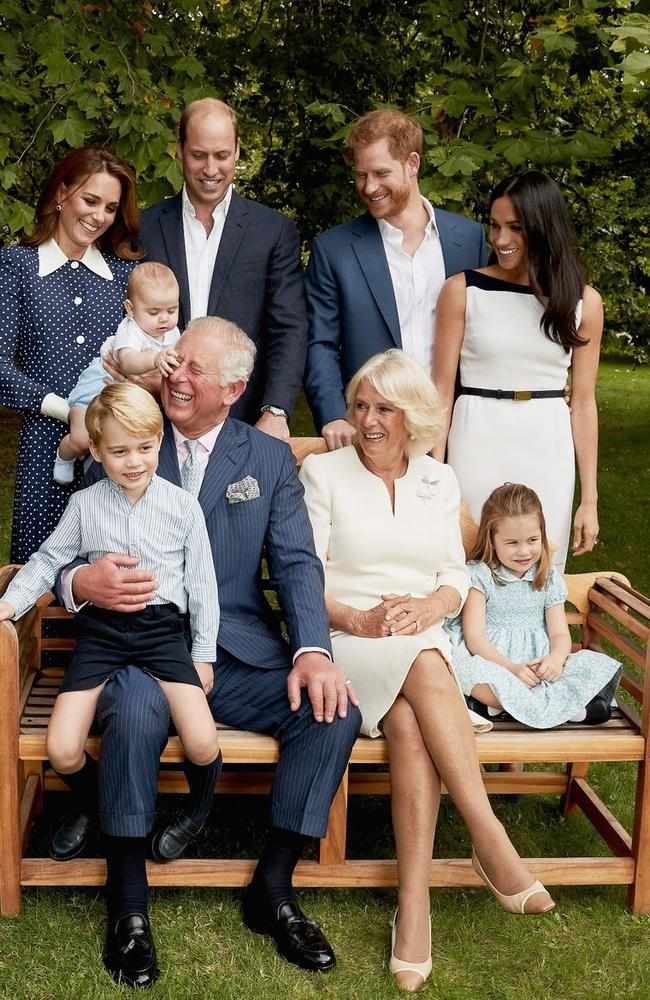 Family photo time. Picture: Chris Jackson/Getty Images for Clarence House