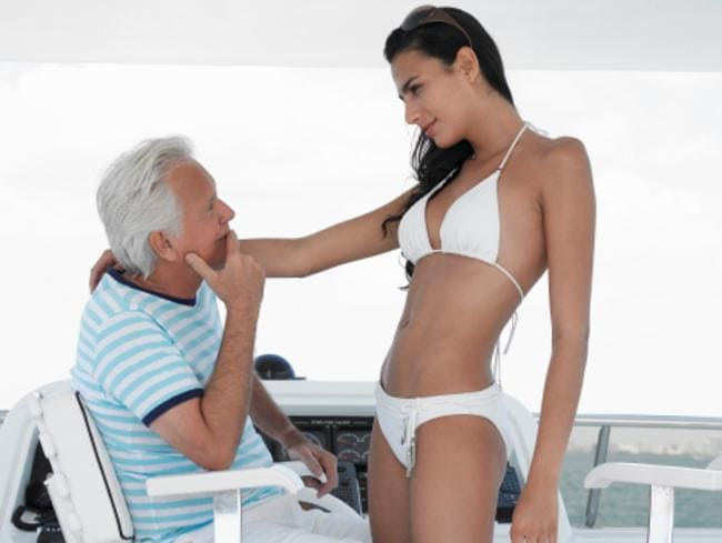 It seems there are a lot of young women out there happy to earn money from making older guys less lonely.