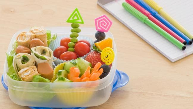 A lunch box with plenty of fruit and vegetables will put your kids in good stead.