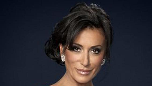 "Former Strictly Come Dancing contestant Nancy Dell'Olio said Sir Philip treated her like a ""prostitute"". Picture: BBC"