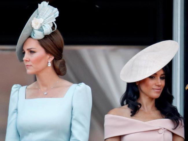 There are rumours of a rift between Kate and Meghan.