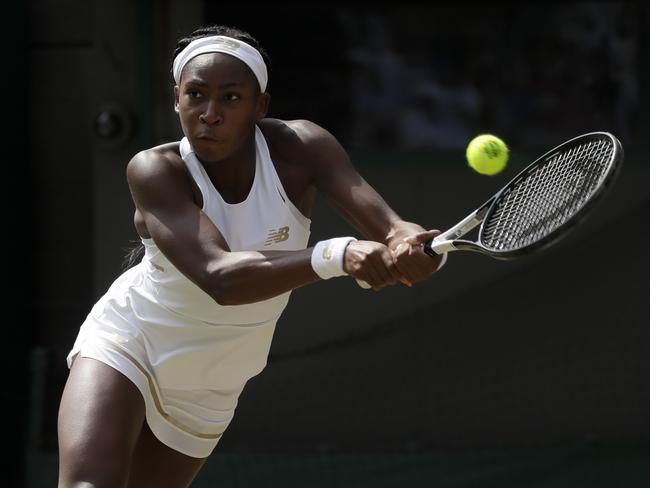 """Cori """"Coco"""" Gauff may get to strut her stuff in front of her home crowd."""