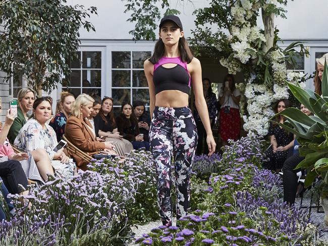 The Target leggings were shown at a fashion event in Sydney.