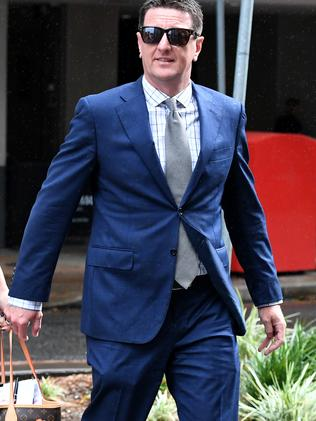 Andrew Whelan claims the Candyman pays models. Picture: AAP.