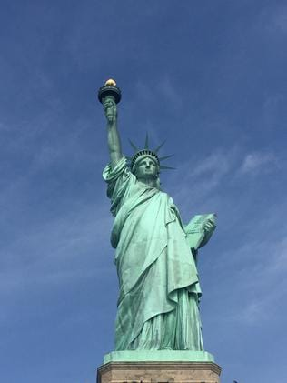 The State of Liberty is a sight to behold.