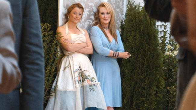 "Mamie Gummer and Meryl Streep play a mother and daughter in the film ""Ricki and the Flash"". Photo: Sony Pictures"