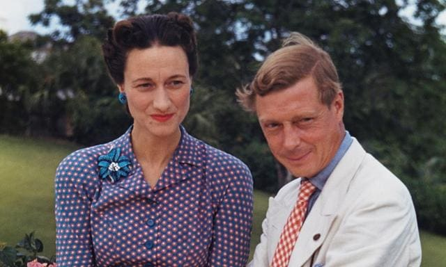 The Duke and Duchess of Windsor. Picture for SBS documentary Spying on the Royals.