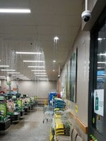 The Cooloola Cove Woolworths has closed down due to flooding from the tornado yesterday afternoon. Picture: Christian and Alice Sheridan