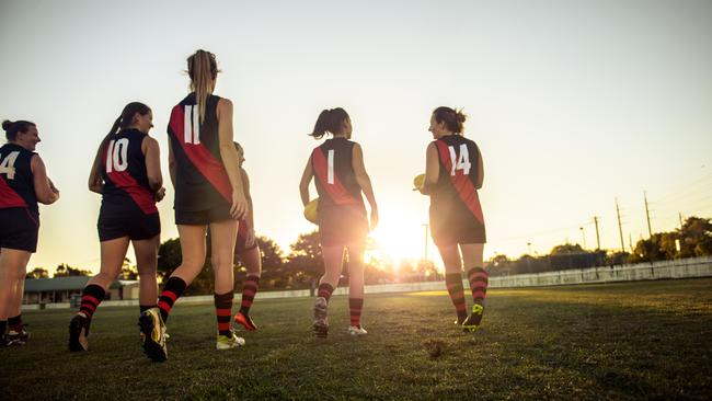 The creation of the AFL women's competition forced an important national conversation about how we treat, value and respect female athletes. Picture: istock.