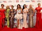 The Real Housewives of Melbourne on the red carpet at the 57th Logie Awards at Crown Casino in Melbourne. Picture: Julie Kiriacoudis