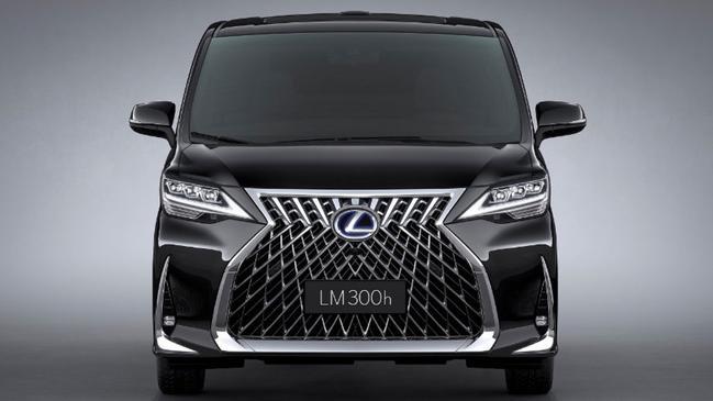 Lexus debuts its ugliest vehicle