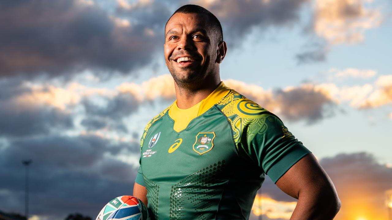 2a2968bb6b7 Wallabies World Cup indigenous jersey revealed | The Courier-Mail