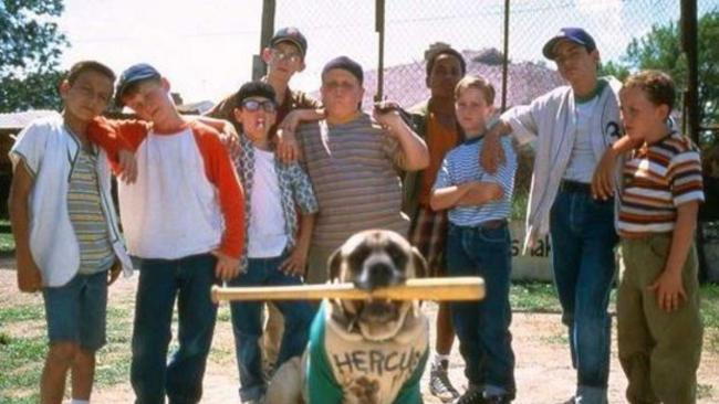 'The Sandlot' has become on of the most beloved coming-of-age films of the 90s. Picture: Supplied