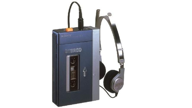 Look kids, no screen! The original TPS-L2 Walkman from 1979 but it could have been called a Disco Jogger.