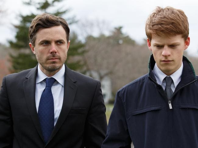 Casey Affleck and Lucas Hedges in a scene from film  <i>Manchester by the Sea. </i>Picture: Supplied