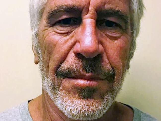 Jeffrey Epstein died last year. Picture: New York State Sex Offender Registry/AFP