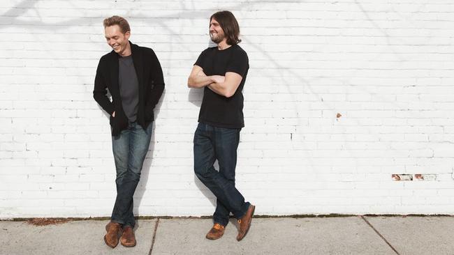 Joshua Fields Millburn and Ryan Nicodemus are The Minimalists.
