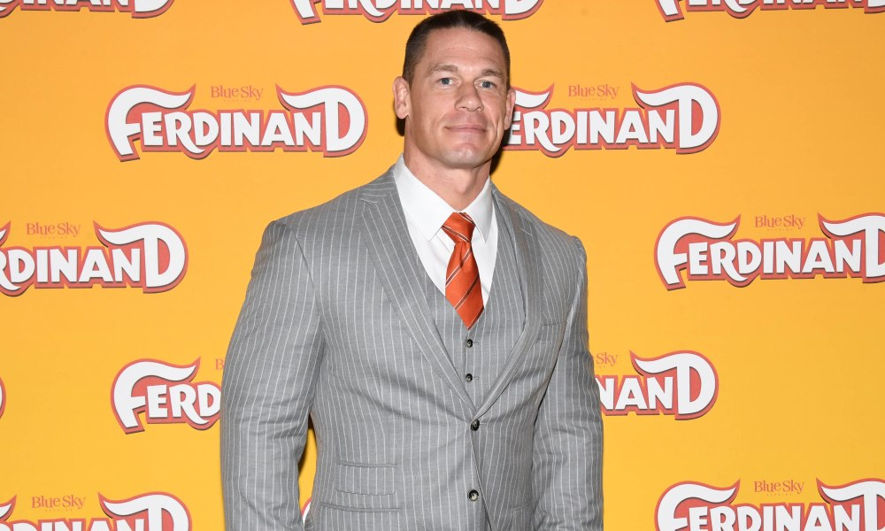 LONDON, ENGLAND - DECEMBER 03: John Cena attends the 'Ferdinand' special screening at BFI Southbank on December 3, 2017 in London, England. (Photo by Stuart C. Wilson/Getty Images)