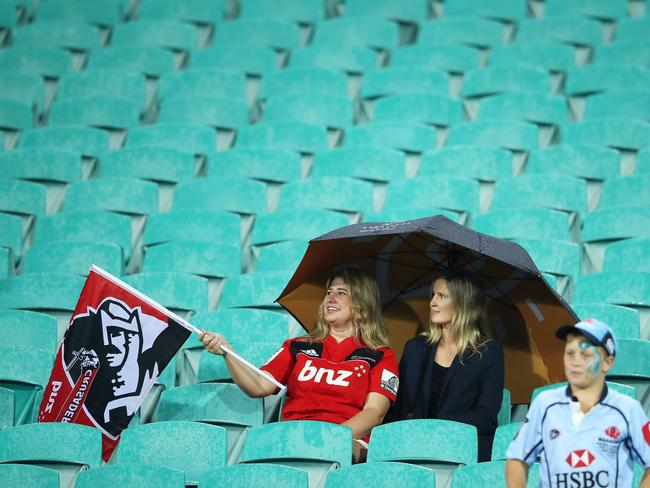 Super Rugby crowds have steadily dropped for several years