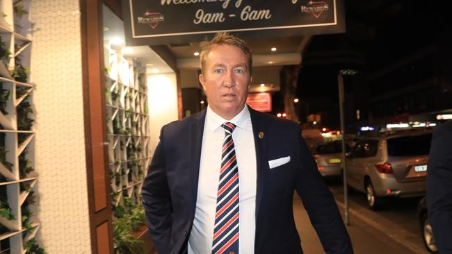 Trent Robinson outside the Eastern Suburbs Leagues Club in Bondi Junction. Picture: Christian Gilles