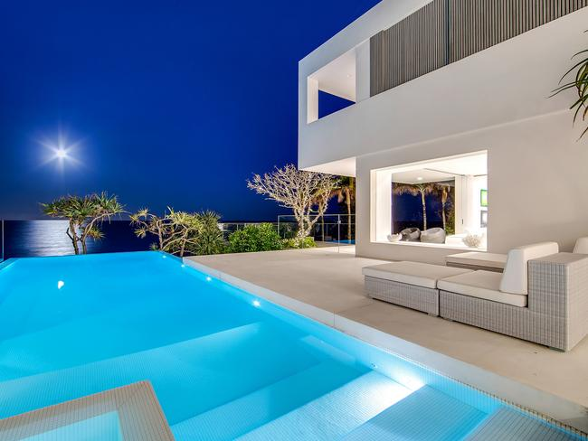 The stunning house with a beautiful view to the beach. Picture: Tom Offermann Real Estate