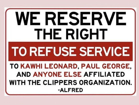 Alfred Coffee ban NBA players