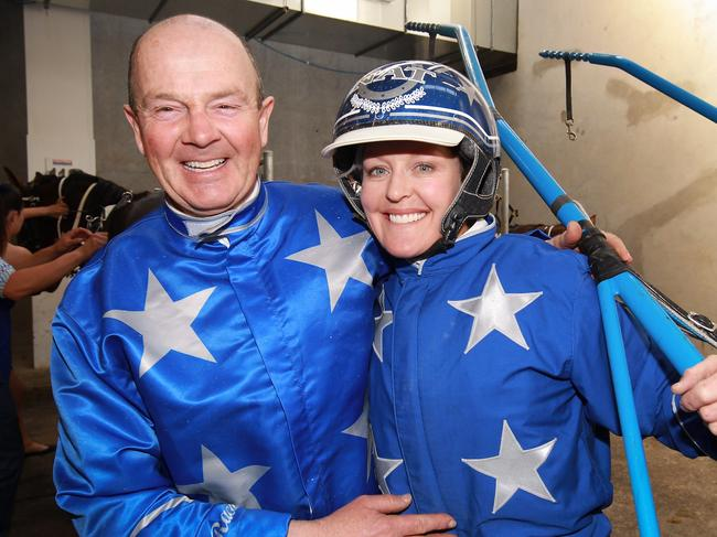 Mark Purdon and Natalie Rasmussen are poised for another big night.