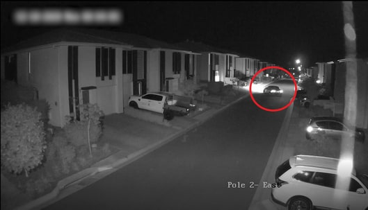 Shane Bowden is in the process of entering a garage at a unit complex at Pimpama. Moments later he is ambushed and killed in a hail of bullets. Picture: QPS