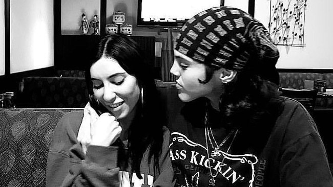 Jessica Origliasso and Kai Carlton. Picture: Instagram