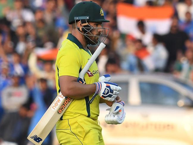 Aaron Finch showed glimpses of his best but still recorded two ducks in five innings.