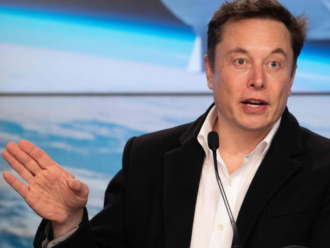 SpaceX chief Elon Musk has big plans. Picture: AFP
