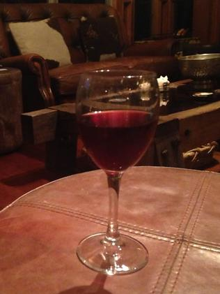 Delicious mulled wine, toasty warm off the fire. Photo: Grace Koelma