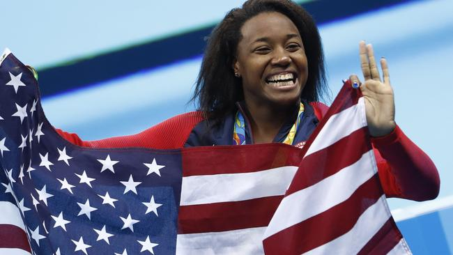 100m freestyle gold medallist Simone Manuel was a no name before the Rio Olympics.
