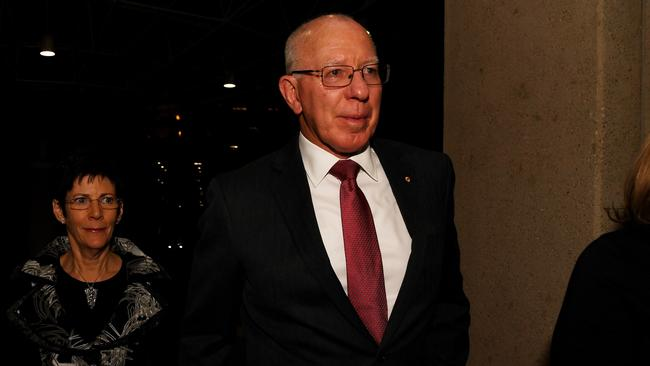 The Governor-General David Hurley considers and approves those recommended for the honours. Picture: Tracey Nearmy/The Australian