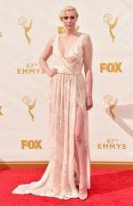Gwendoline Christie attends the 67th Emmy Awards in Los Angeles. Picture: Getty