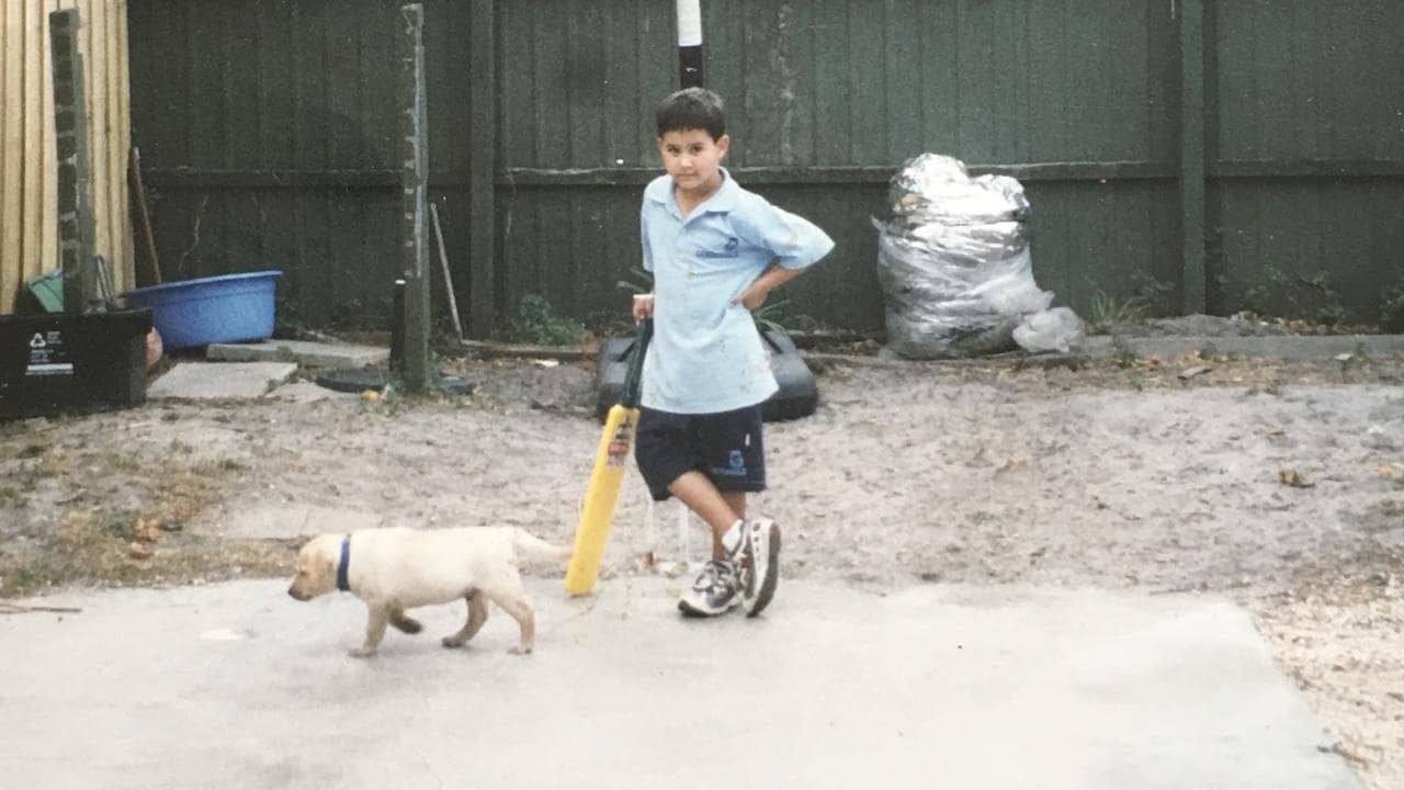 Ashton Agar as a kid