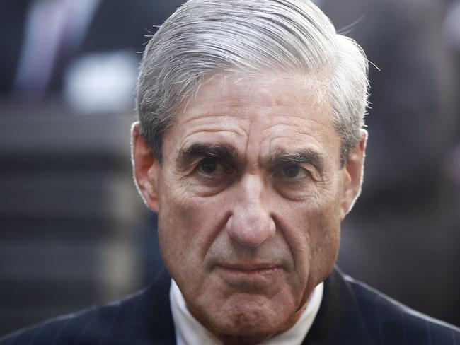 Special Counsel Robert Mueller. Picture: AP