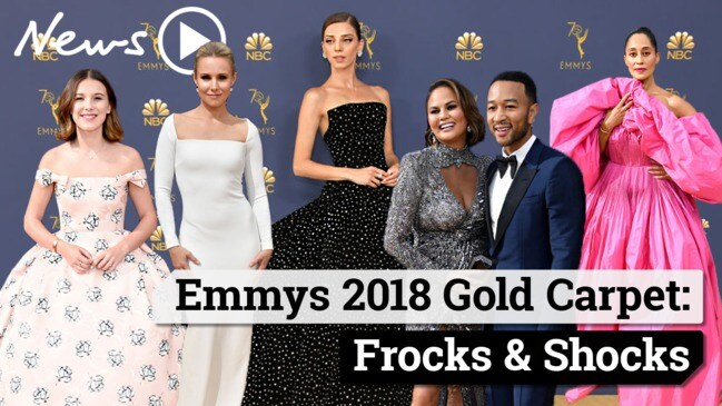 Emmy Awards 2018: Gold Carpet Best And Worst Dressed