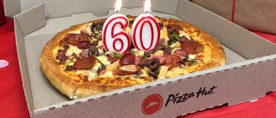 Pizza Hut is celebrating its 60th birthday this year.
