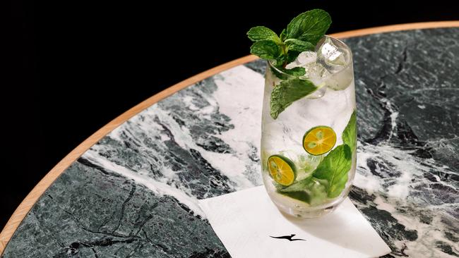 The Calamansi Mojito is already the most popular cocktail at Qantas's International Business Lounge at the same airport.